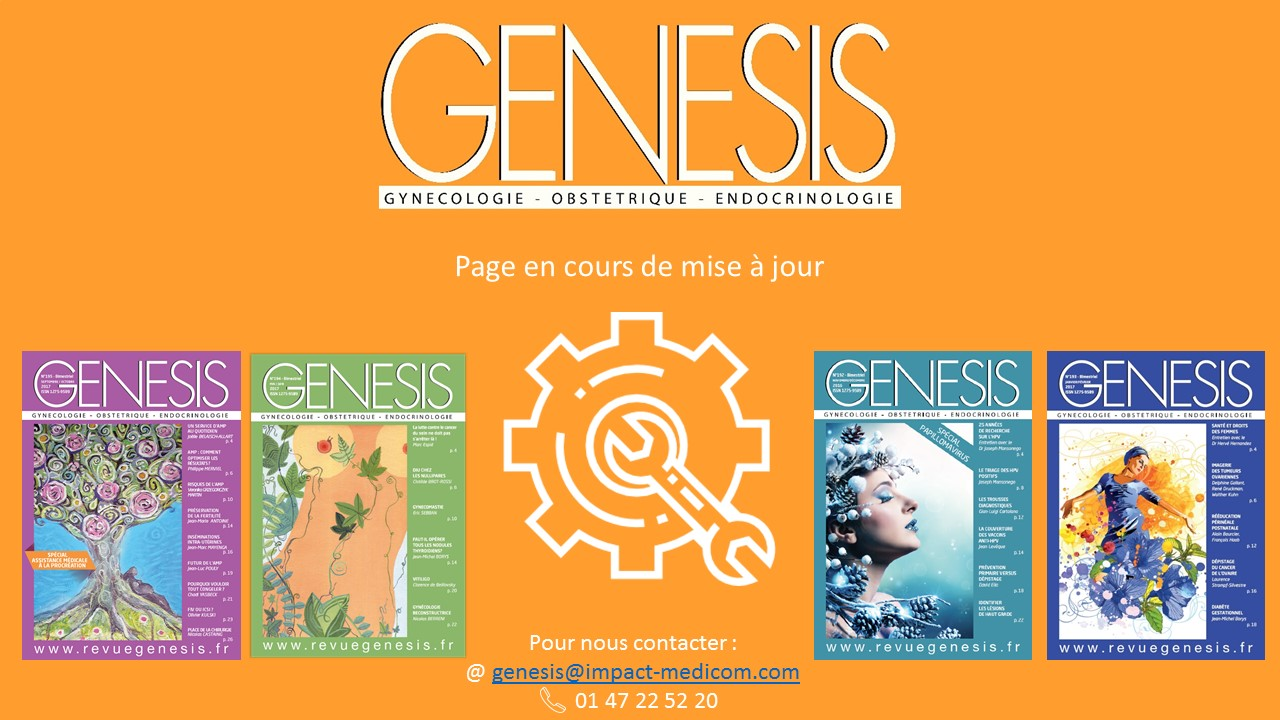 Genesis en reparation