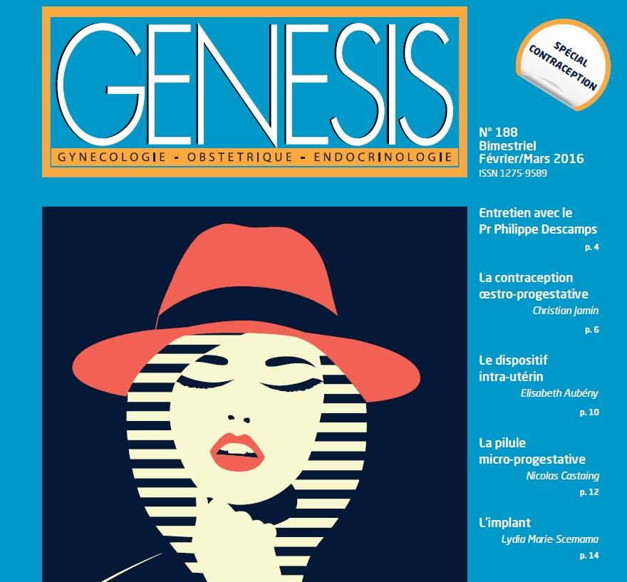 Couverture de la Revue Genesis N°188